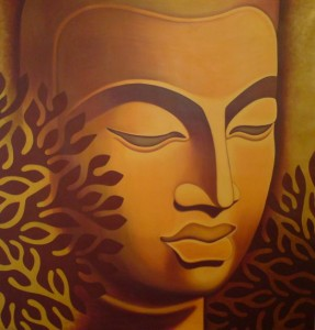 Tree of Life Buddha by Danielle Shazelle