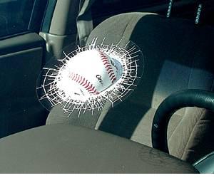 Baseball-Shatter Gag Toy